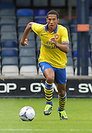 Picture by David Horn/Focus Images Ltd +44 7545 970036<br /> 03/08/2013<br /> Isaac Hayden of Arsenal XI during the Friendly match at Kenilworth Road, Luton.