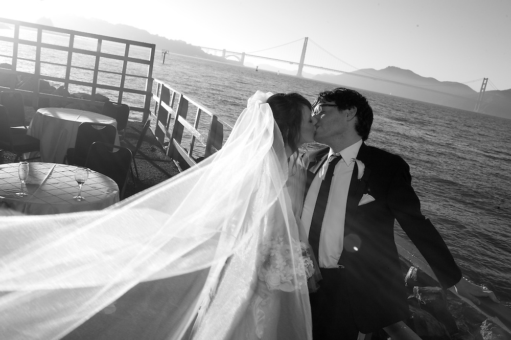 Wedding, St. Francis Yacht Club. San Francisco, CA.