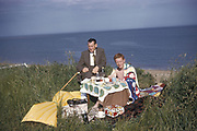 Picnic with style, UK, 1963