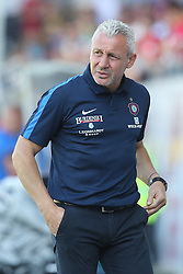 07.08.2016, Voith Arena, Heidenheim, GER, 2. FBL, 1. FC Heidenheim vs FC Erzgebirge Aue, 1. Runde, im Bild Trainer Pavel Dotchev ( FC Erzgebirge Aue ) // during the 2nd German Bundesliga 1st round match between 1. FC Heidenheim and FC Erzgebirge Aue Voith Arena in Heidenheim, Germany on 2016/08/07. EXPA Pictures © 2016, PhotoCredit: EXPA/ Eibner-Pressefoto/ Langer<br /> <br /> *****ATTENTION - OUT of GER*****