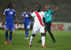 Hamis Kizza of Free State Stars during the 2016 Premier Soccer League match between Supersport United and The Free Stat Stars held at the King Zwelithini Stadium in Durban, South Africa on the 24th September 2016<br /> <br /> Photo by:   Steve Haag / Real Time Images