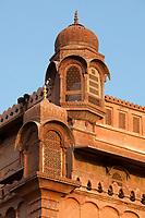 Junagarh Fort in city of Bikaner rajasthan state in india