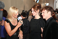 Jo Whiley, Sophie Ellis Bextor and Richard Jones,