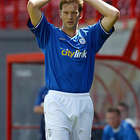 Ian Maxwell<br />St Johnstone FC Season 2003-2004<br /><br />Picture by Graeme Hart.<br />Copyright Perthshire Picture Agency<br />Tel: 01738 623350  Mobile: 07990 594431