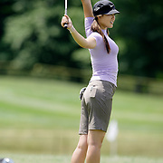 HAVRE DE GRACE, MD, June 5, 2007:  Michelle Wie practices two days before the start of the LPGA Championship in Havre De Grace, MD on June 5, 2007.  (Photo by Todd Bigelow/Aurora)