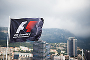 May 20-24, 2015: Monaco Grand Prix - Formula 1 flag.