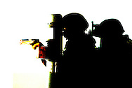 York County Quick Response Team.©John A. Pavoncello/Pho-Tac.com.December 19,, 2008.Active Shooter training at Spring Grove High School