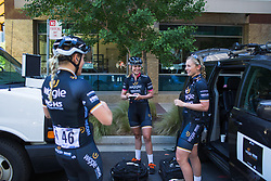 Wiggle High5 Cycling Team riders prepare for Stage 3 of the Amgen Tour of California - a 70 km road race, starting and finishing in Sacramento on May 19, 2018, in California, United States. (Photo by Balint Hamvas/Velofocus.com)