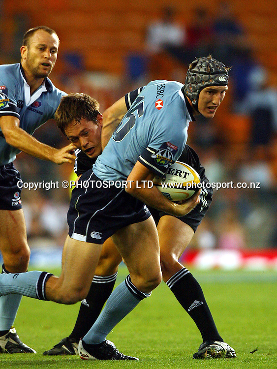 Sam Norton-Knight during the 2006 Super 14 rugby union match between the Stormers and the Waratahs at Newlands, Cape Town, South Africa, on Saturday 18 February, 2006. Photo: Carl Fourie/PHOTOSPORT