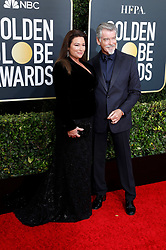 January 5, 2020, Beverly Hills, Kalifornien, USA: Keely Shaye Smith und Pierce Brosnan bei der Verleihung der 77. Golden Globe Awards im Beverly Hilton Hotel. Beverly Hills, 05.01.2020 (Credit Image: © Future-Image via ZUMA Press)