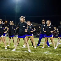 Berryville Cheerleaders at Berryville vs. Green Forest