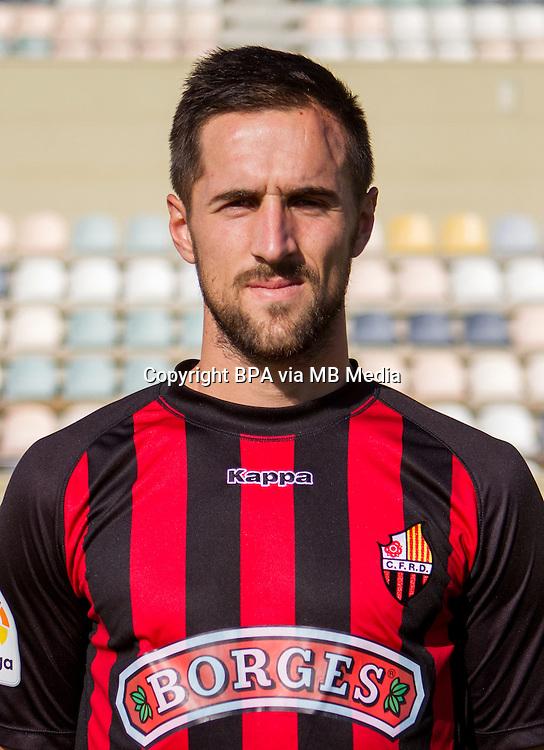Spain - La Liga B 123 _ 2016-2017 / <br /> ( C.F. Reus Deportiu ) - <br /> Jorge Miramon Santagertrudis &quot; Jorge Miramon &quot;