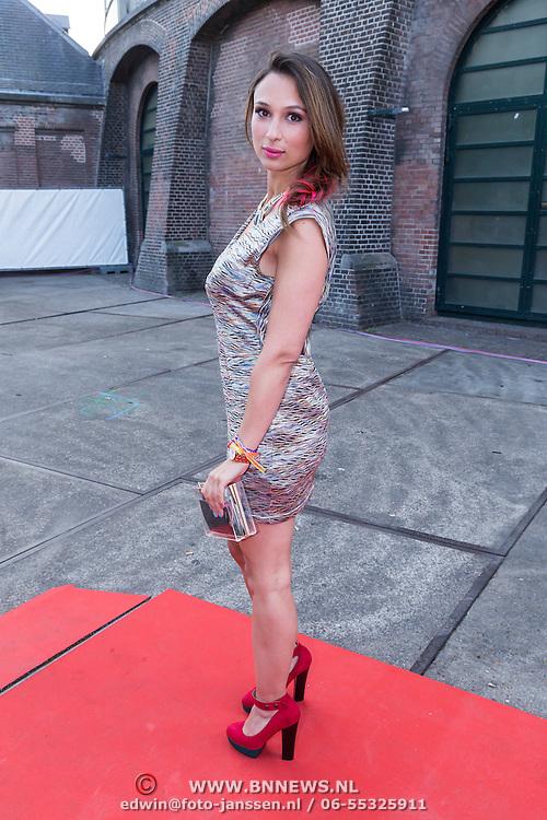NLD/Amsterdam/20130712 - AFW2013 Zomer editie, modeshow Spijkers & Spijkers, Mounira Mansour