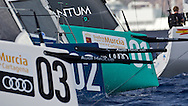 SPAIN, Cartagena. 28th August 2011. AUDI MedCup, Region of Murcia Cartagena Trophy. TP52 start.