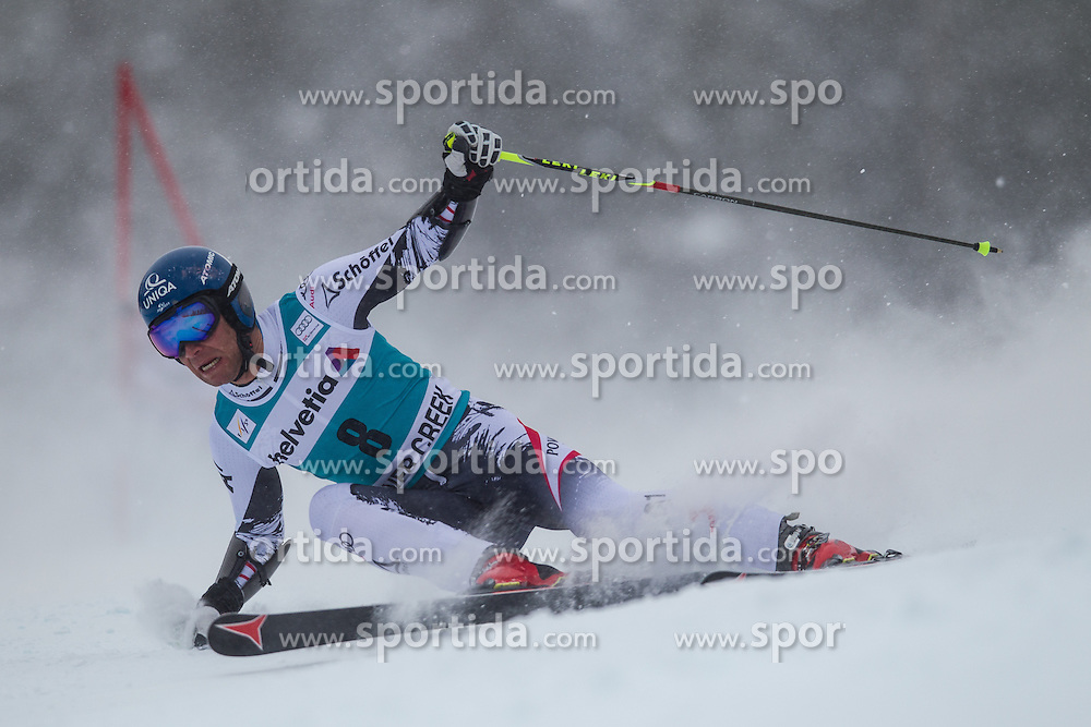 08.12.2013, Birds of Prey, Beaver Creek, USA, FIS Ski Weltcup, Beaver Creek, Riesentorlauf, Herren, 1. Durchgang, im Bild Benjamin Raich (AUT) // Benjamin Raich of Austria in action during the the 1st run of mens Giant Slalom of the Beaver Creek FIS Ski Alpine World Cup at the Birds of Prey Raptor in Beaver Creek, United States on 2012/12/08. EXPA Pictures © 2013, PhotoCredit: EXPA/ Johann Groder