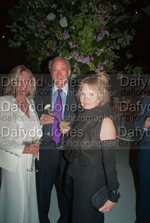 SIR MARK WEINBERG; LADY WEINBERG, CARTIER CHELSEA FLOWER SHOW DINNER Dinner hosted by Cartier in celebration of the Chelsea Flower Show was held at Battersea Power Station. 22 May 2012