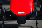 March 27-29, 2015: Malaysian Grand Prix - Manor Marussia F1 team nose detail