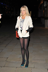 LADY ELOISE ANSON at a party to launch pop-up store Oxygen Boutique, 33 Duke of York Square, London SW3 on 8th February 2011.