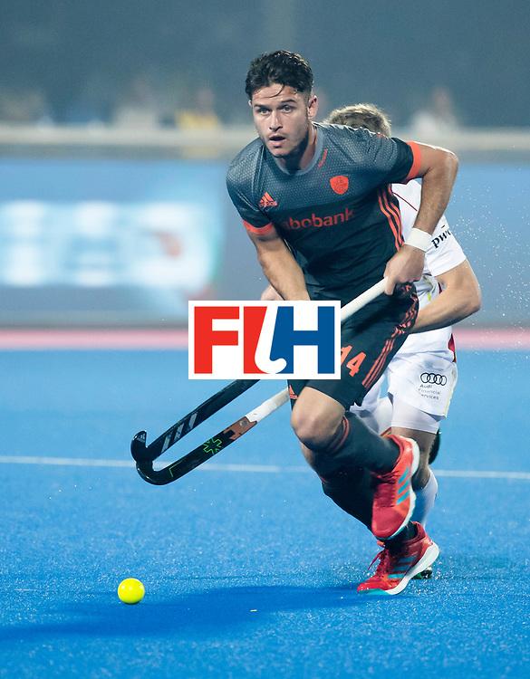 BHUBANESWAR - Robbert Kemperman (Ned)   tijdens de Hockey World League Final wedstrijd Belgie-Nederland (3-0).   COPYRIGHT KOEN SUYK