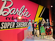 "Emmy Rossum, Trisha Yearwood, Ava DuVernay, Sydney ""Mayhem"" Keiser, Kristin Chenoweth and Eva Chen are celebrated as Barbie Sheroes and received one-of-a-kind dolls in their likeness, the highest honor from the Barbie brand, at the Variety Power of Women event, Friday, April 24, 2015, in New York.  The first ever Barbie Shero awards celebrate women who are inspiring girls. (Photo by Diane Bondareff/Invision for Barbie/AP Images)"