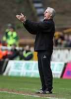 Photo: Rich Eaton.<br /> <br /> Wolverhampton Wanderers v Leeds United. Coca Cola Championship. 24/02/2007. Mick McCarthy, manager of Wolves applauds his team during their 1-0 home victory over Leeds