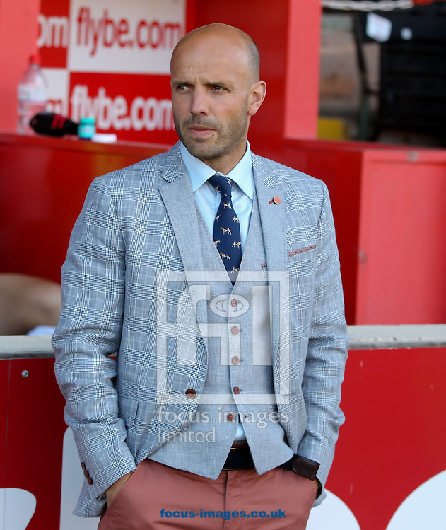 Exeter City manager Paul Tisdale before the Capital One Cup match at St James' Park, Exeter<br /> Picture by Tom Smith/Focus Images Ltd 07545141164<br /> 12/08/2014