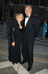 Singer ELAINE PAIGE and MR CHRISTOPHER LAWRENCE-PRICE at a tribute to Luciano Pavarotti in aid of the British Red Cross held at The Guildhall, City of London on 6th June 2005<br />NON EXCLUSIVE - WORLD RIGHTS