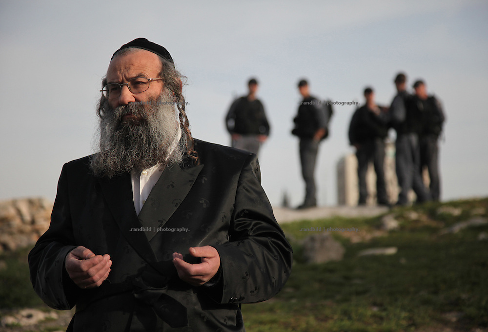 A orthodox jew view sceptical to the weekly protest against evictions of palestinian houses in Sheik Jarrah, East Jerusalem, to give the property to jewish inhabitants.