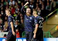 19/08/15 UEFA CHAMPIONS LEAGUE PLAY-OFF 1ST LEG<br /> CELTIC V MALMO<br /> CELTIC PARK - GLASGOW<br /> Jo Inge Berget pulls a goal back for Malmo.