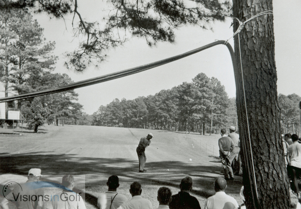 Ben Hogan c1967 at The Masters, Augusta, Ga, USA<br /> <br /> Picture Credit: &copy;Visions In Golf