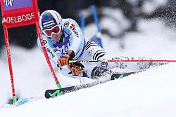 10.01.2015, Adelboden, SUI, FIS Weltcup Ski Alpin, Adelboden, Riesentorlauf, Herren, 1. Durchgang, im Bild Fritz Dopfer (GER) // during first run of Men Giant Slalom of FIS Ski Alpine World Cup at Adelboden, Switzerland on 2015/01/10. EXPA Pictures © 2015, PhotoCredit: EXPA/ Freshfocus/ Christian Pfander<br /> <br /> *****ATTENTION - for AUT, SLO, CRO, SRB, BIH, MAZ only*****
