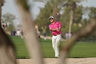 Miguel Angel Jimenez (ESP) in action during the second round of the Omega Dubai Desert Classic, Emirates Golf Club, Dubai, UAE. 25/01/2019<br /> Picture: Golffile | Phil Inglis<br /> <br /> <br /> All photo usage must carry mandatory copyright credit (© Golffile | Phil Inglis)