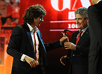 20120227: LISBON, PORTUGAL - SL Benfica 108th anniversary gala at Coliseu dos Recreios in Lisbon, Portugal.<br />