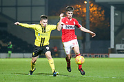 Kian Spence of Middlesbrough (52) during the EFL Trophy group stage match between Burton Albion and U21 Middlesbrough at the Pirelli Stadium, Burton upon Trent, England on 7 November 2018.