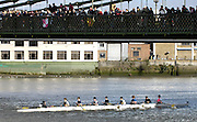 Hammersmith, GREAT BRITAIN,   2008 School Head of the River Race,  04/03/2008  2008. [Mandatory Credit, Peter Spurrier/Intersport-images] Rowing Course: River Thames, Championship course, Putney to Mortlake 4.25 Miles, Hammersmith Bridge