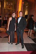 FRANCESCA VERSACE; NICHOLAS PORTER, Hollywood Costume gala dinner, V and A. London. 16 October 2012