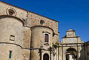 Gerace, a perfectly preserved medieval town once home to 128 churches. The Norman Cathedral, the largest religious building in Calabria, including the prison of the Five Martyrs of Gerace (1045). It has a nave and two aisles, each divided by 13 columns coming from the ancient temples of Locri.