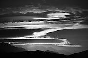 Sunrise Clouds,  Amargosa Range, Death Valley National Park, California