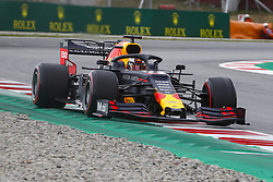 May 11, 2019 - Barcelona, Catalonia, Spain - Red Bull Racing Honda driver Max Verstappen (33) of Netherlands during F1 Grand Prix free practice celebrated at Circuit of Barcelona 11th May 2019 in Barcelona, Spain. (Credit Image: © Mikel Trigueros/NurPhoto via ZUMA Press)