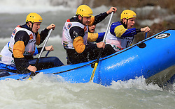 Al Wagi - Rafting Team Kolpa of Slovenia at Euro Cup 2009 R6 Rafting in TT & H2H and Slovenian National Championship 2009, on April 4, 2009, in Tacen, Ljubljana, Slovenia. (Photo by Vid Ponikvar / Sportida)