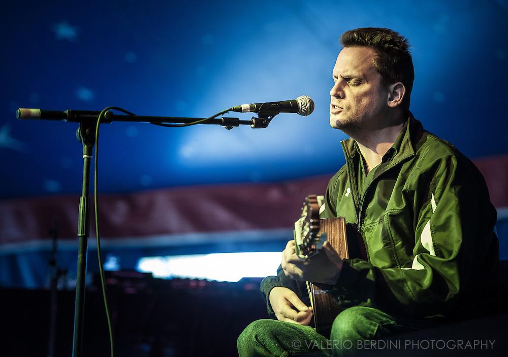Mark Kozelek live at the Field Day festival in London 2011
