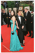 Catherine Zeta Jones and Michael Douglas The 58th Annual Golden Globe Awards<br />
