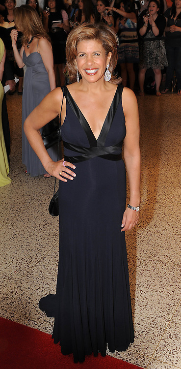 Hoda Coffey arrives for the White House Correspondents Dinner in Washington, DC