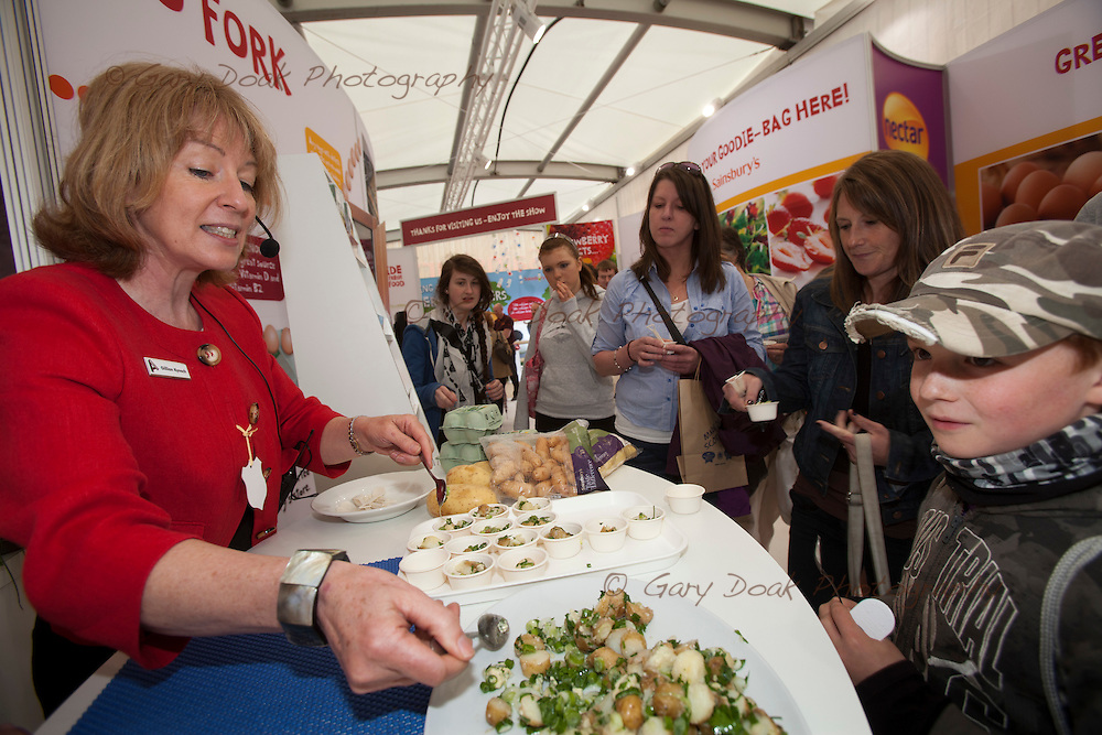 Sainsbury's stand at the Royal Highland Show, Ingliston, Edinburgh