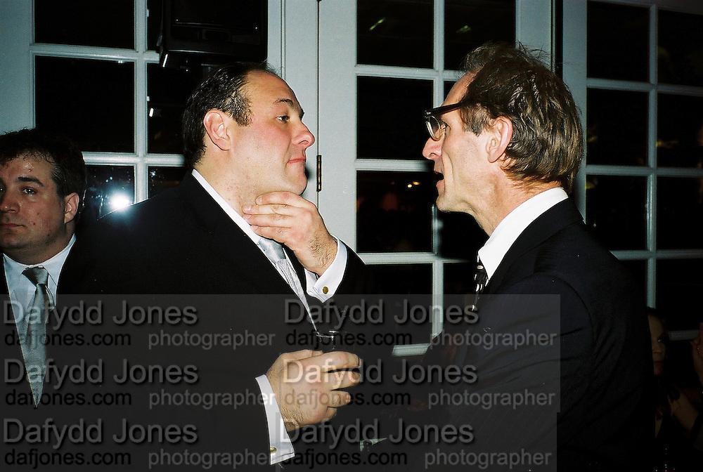 James Garnofini and Milo Reice. Post Golden Globes HBO party. Beverley Hilton. 21 January 2001. © Copyright Photograph by Dafydd Jones 66 Stockwell Park Rd. London SW9 0DA Tel 020 7733 0108 www.dafjones.com
