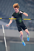 Shawn Barber aka Shawnacy Barber (CAN) places fifth in the pole vault at 18-8 3/4 (5.71m) during the IAAF Diamond League Shanghai 2018 in Shanghai, China, Saturday, May 12, 2018. (Jiro Mochizukii/Image of Sport)