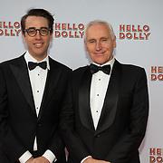 NLD/Rotterdam/20200308 - Premiere Hello Dolly, Arthur Japin en partner Lex Jansen