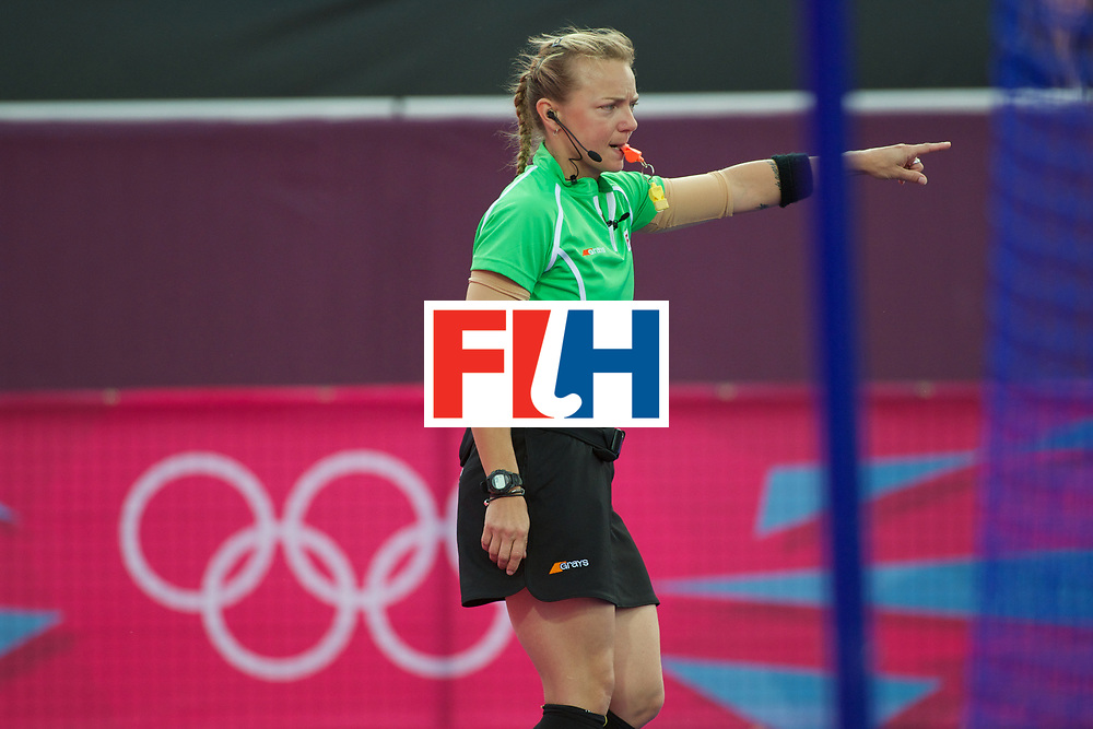 Olympics 2012, hockey, US umpire, A. Hassick