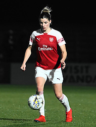 February 20, 2019 - Borehamwood, Hertfordshire, United Kingdom - Dominique Bloodworth of Arsenal   during the FA Women's Super League football match between Arsenal Women and Yeovil Town L.F.C.at Meadow Park on February 20, 2019 in Borehamwood, England. (Credit Image: © Action Foto Sport/NurPhoto via ZUMA Press)