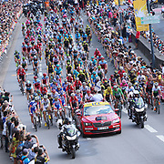 Illustration start, during the 105th Tour de France 2018, Stage 6, Brest - Mur de Bretagne Guerledan (181km) in France on July 12th, 2018 - Photo George Deswijzen / Proshots / ProSportsImages / DPPI